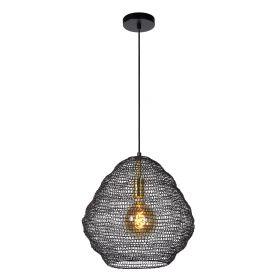 SAAR - Hanglamp - Ø 38 cm - 1xE27 - Zwart