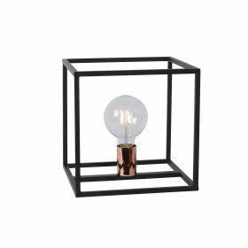 ARTHUR - Tafellamp - E27 - Zwart