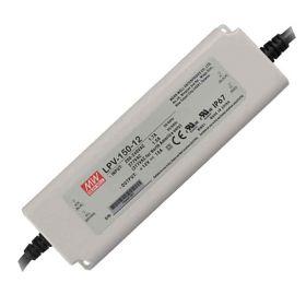 Mean Well LED Trafo 150W 12 VAC 1000mA IP67 CV