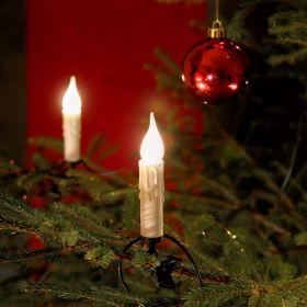 Konstsmide Kerstboomverlichting Kerstboomkaarsen 20 kaarsen met knijper
