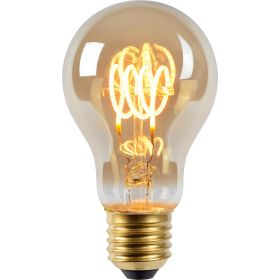 Lucide E27 A60 Led Filament lamp 5W 2200K flame