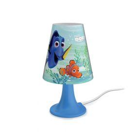 Philips Disney Finding Dory Tafellamp 1x2.3W meerkleurig