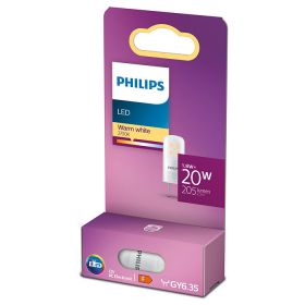 Philips GY6.35 Capsule Mat 1,8W Warm Wit