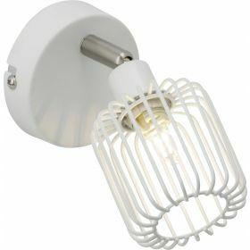 Brilliant FLAVIAN Wandlamp 1x33W Wit 52810/05