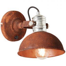 Brilliant FRIEDA Wandlamp E27 Roest
