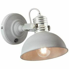 Brilliant FRIEDA Wandlamp E27 Grijs