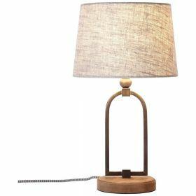 Brilliant SORA Tafellamp E27 Beige