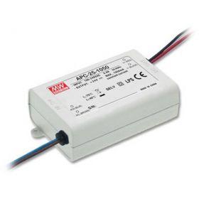 Mean Well LED Trafo 25W 9-24V DC 1050mA IP42 CC