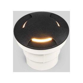 Fumagalli CECI Grondspot Zwart GX53 3W Warmwit