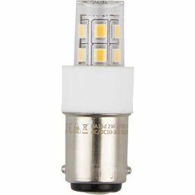 SPL Ba15d buislamp 2W Warmwit Helder 12V AC