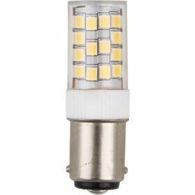 SPL Ba15d buislamp 3.6W Warmwit Helder Dimbaar