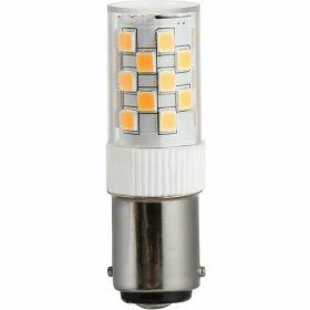 SPL Ba15d buislamp 3.5W Warmwit Helder