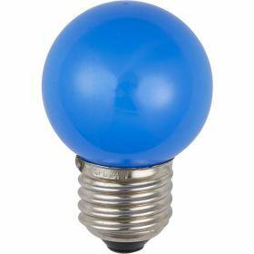 SPL E27 kogellamp 1W Blauw Kleur