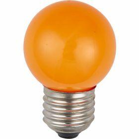 SPL E27 kogellamp 1W Oranje Kleur