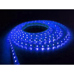 LED strip 4.8W-240lm/meter 60x3528SMD 12VDC IP20 Blauw 4m Rol