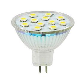 GU5.3 LED Spot 2W=22W Warmwit 2700K 120° 10-30V DC/12V AC Dimbaar