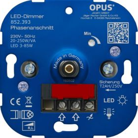 Opus Dimmer Inbouw 230VAC 250W