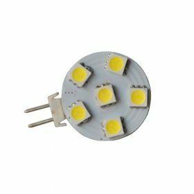 G4 LED Steeklampje 1,1Watt warmwit 2700K Dimbaar DC/12V 120°