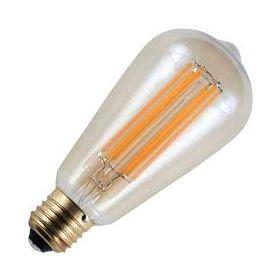 SPL E27 Peerlamp 6.5W Flame Dimbaar