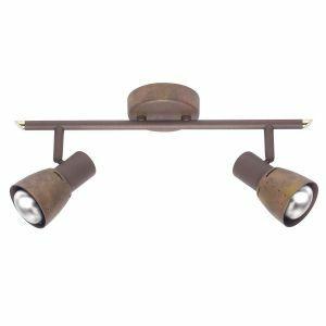 Brilliant LAVA Plafondlamp 2xE14 Koper