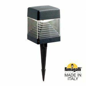 Fumagalli Ester Tuinspot Zwart GX53 7W Warmwit