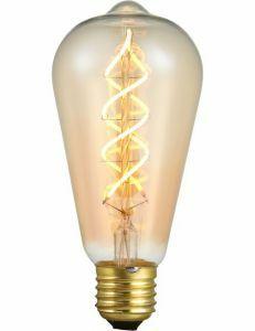 SPL E27 buislamp 5W Flame Helder Dimbaar