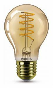 Philips Classic E27 Peerlamp 5.5W Flame Dimbaar